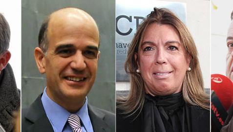 Catalán, Esparza, Rábade y Salanueva optarán a liderar la lista de UPN