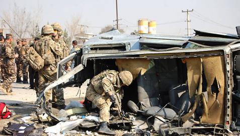 Cinco muertos en un ataque a un vehículo diplomático inglés en Kabul
