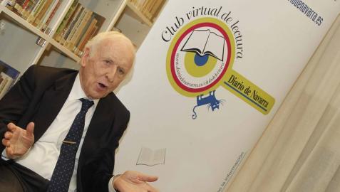Leopoldo Abadía, el 16 de diciembre en el Club de Lectura
