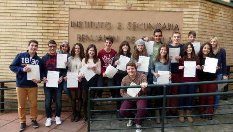 Títulos de Cambridge para alumnos del instituto Benjamín de Tudela
