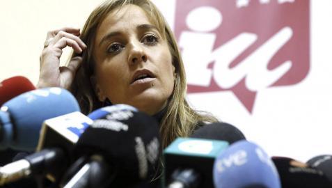 Tania Sánchez (IU) asegura que no ha adjudicado ningún contrato en Rivas
