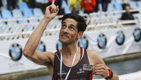 Pedro Nimo dedica su victoria a Arantza Ezquerro