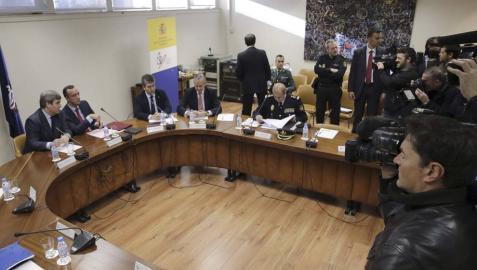 El Comité Antiviolencia, reunido este lunes