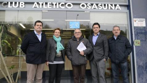 Sabalza presenta su candidatura a la presidencia del club