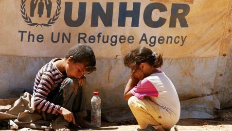 El número de niños refugiados por la guerra en Siria llega a un millón