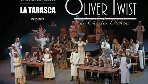 Promoción del musical 'Oliver Twist'.