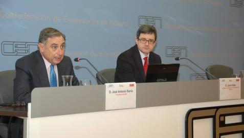 El consejero Iribas destaca ante los empresarios el impulso dado en Navarra a la Formación Profesional