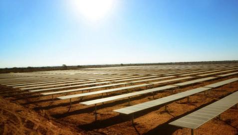 Acciona pone en marcha la central fotovoltaica de mayor producción de África