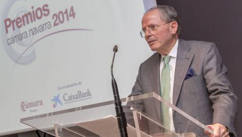 José León Taberna recibe el Premio a la Trayectoria Empresarial 2014