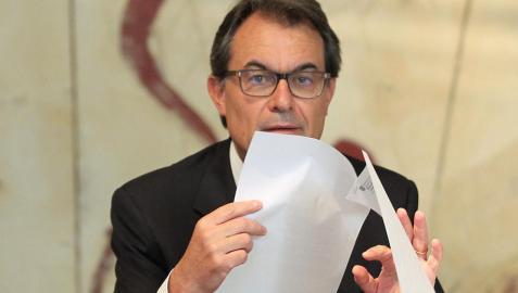 Artur Mas atribuye a Cataluña la recuperación económica española