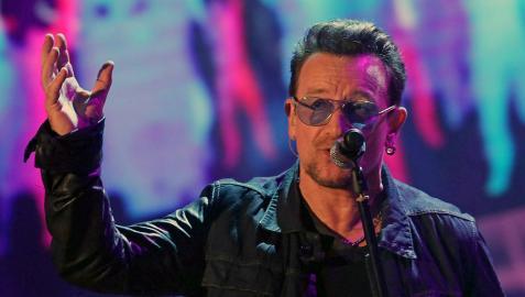 Bono revela que sus gafas oscuras se deben a que sufre glaucoma