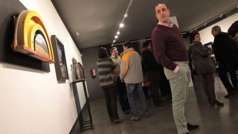 El pintor navarro Joseja Casado muestra sus paisajes en Tudela