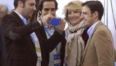 Esperanza Aguirre llama a plantar cara a los