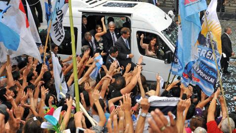 Fernández carga contra la justicia en la apertura de su último curso político