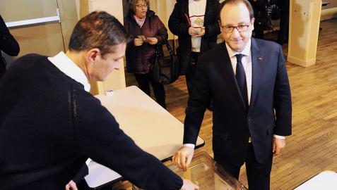 El primer dato de participación en Francia es del 18,02% a mediodía