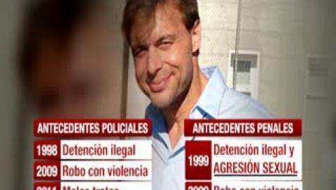 Antonio Ortiz nunca figuró como agresor sexual en las bases de la Policía