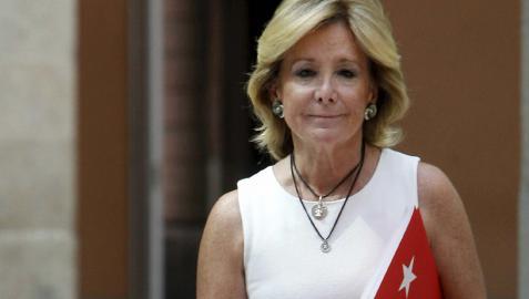 Esperanza Aguirre ficha por la firma de 'cazatalentos' Seeliger y Conde