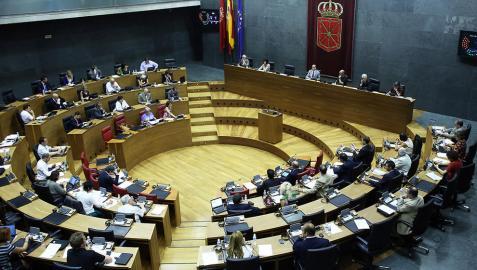 El Parlamento de Navarra para durante dos meses su actividad