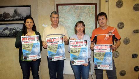 El Grupo de montaña Muskaria recauda dinero para Nepal