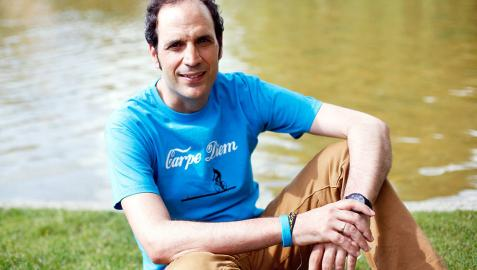 Francisco Javier Gorostieta, ganador del III Certamen de Relato Breve
