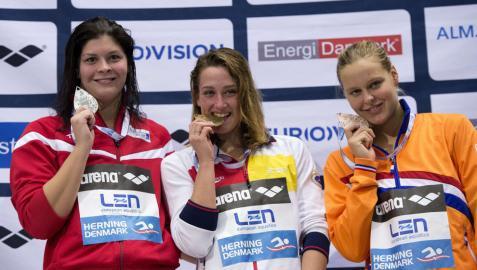Segundo oro en los Europeos para Mireia Belmonte