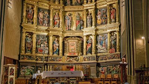Roban un cáliz de la parroquia San Juan Bautista de Estella