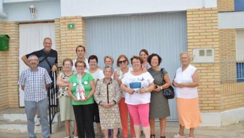 La 'abuela' de Cascante, Ángeles Álava, celebra su  105 cumpleaños
