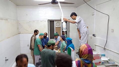 El Gobierno afgano confirmó este sábado que las fuerzas estadounidenses bombardearon esta madrugada un hospital de Médicos Sin Fronteras (MSF) en la ciudad de Kunduz (norte), donde al menos 9 personas murieron y otras 37 resultaron heridas.