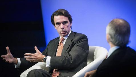 Aznar alerta al PP de que Ciudadanos puede hacerse con el centro-derecha