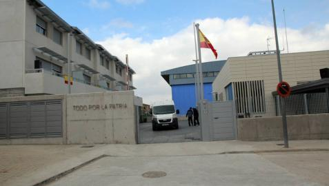 Cuartel de Fitero, último abierto en la Ribera en junio pasado, y que sigue atendiendo las 24 horas.