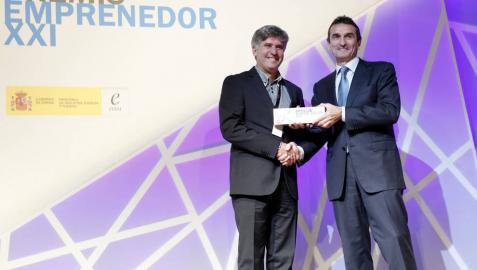 Palobiofarma se alza con el Premio EmprendedorXXI