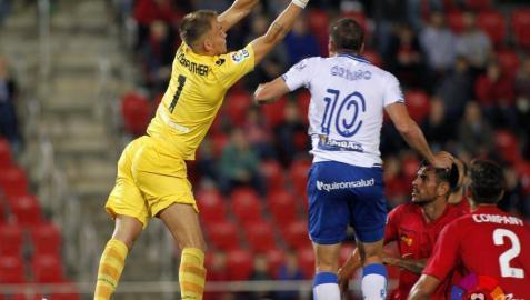 Wellenreuther, contra el Zaragoza.