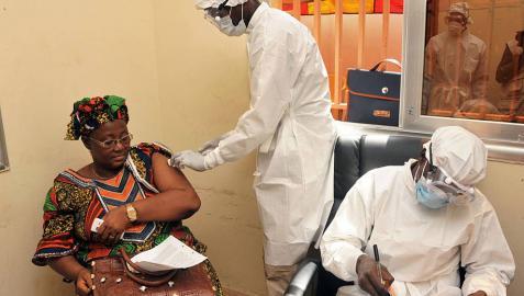 Probada con éxito en Guinea una vacuna contra el ébola