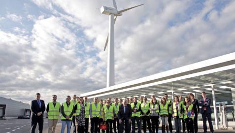 La Fundación Industrial Navarra visita Jofemar para conocer su I+D