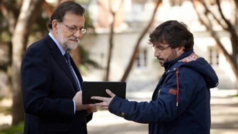 La entrevista de Évole a Mariano Rajoy en laSexta reúne a más de 3,8 millones de espectadores