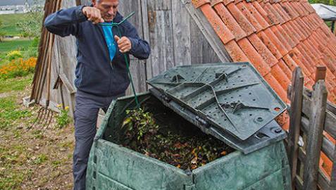 Un total de 159 familias apuestan por el compostaje en la Comarca de Pamplona