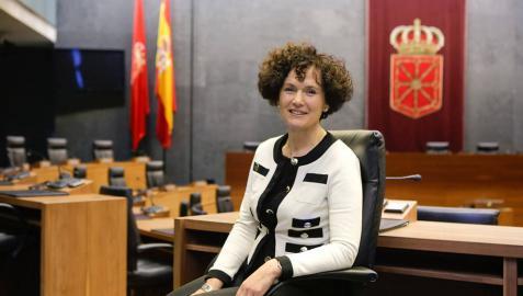 Asunción Olaechea tomará posesión en la Cámara de Comptos este viernes
