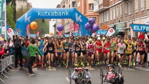 El navarro Iván Acereda gana el Medio Maratón Martín Fiz de Vitoria