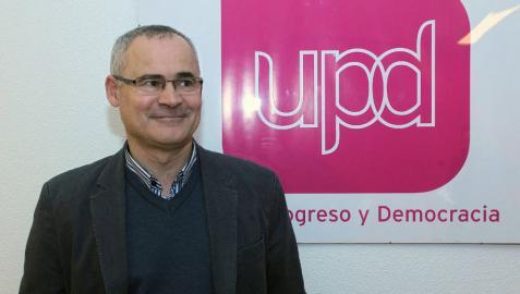 Miguel Zarranz, candidato de UPyD, defiende que su partido es