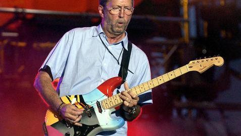 Subastan en 2,9 millones de euros un reloj de Eric Clapton