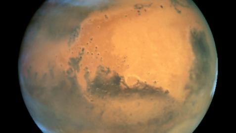 Marte se acercará a la Tierra en abril