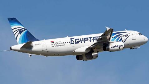 Desaparece del radar un avión de Egyptair con 66 personas a bordo