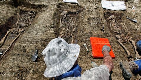 Hallados en el Valle de Erro los restos de una persona desaparecida en 1936