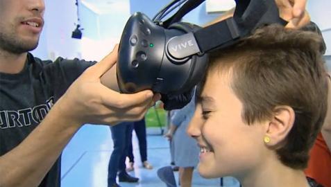 Un juego de realidad virtual permite a los niños enfermos 'escapar' del hospital
