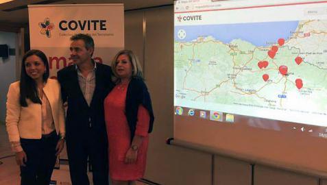Covite presenta el 'Mapa del terror de Navarra'
