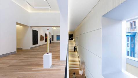 Los arquitectos británicos premian a Patxi Mangado por su museo de Oviedo