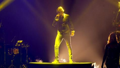 El concierto de Carlos Baute a favor de los refugiados sirios recauda más de 10.000 euros