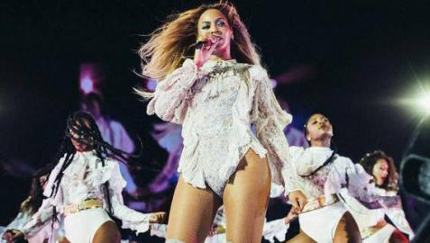 La cantante estadounidense, Beyoncé.