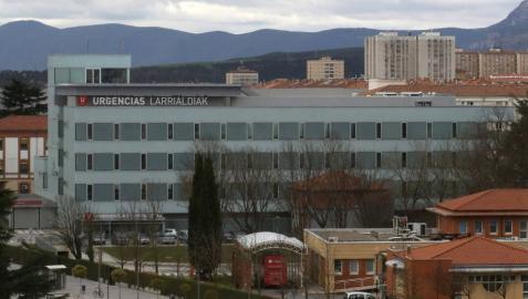 Nuevo edificio de urgencias del Complejo Hospitalario.