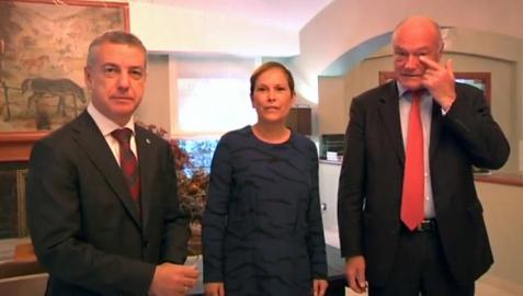 Barkos acuerda integrar a Navarra en la eurorregión Aquitania/Euskadi